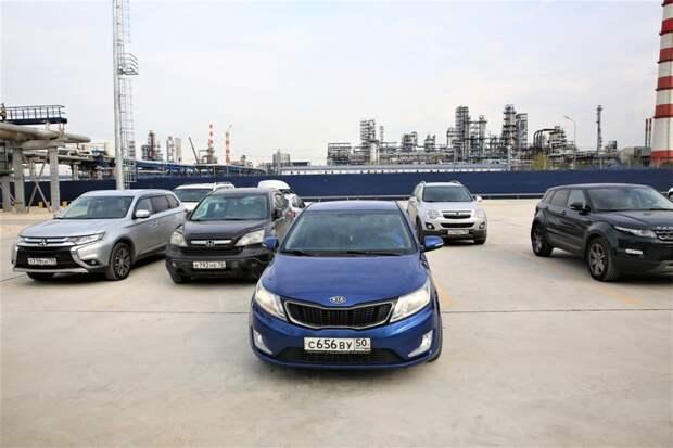 Новая парковка Московского НПЗ в Капотне улучшит транспортную ситуацию района
