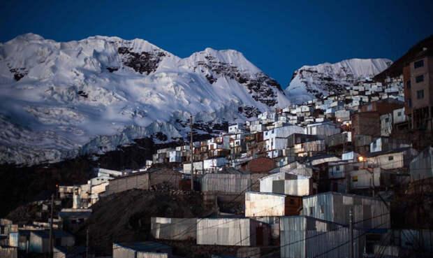 Как живут в самом высокогорном городе планеты: 5 километров выше уровня моря