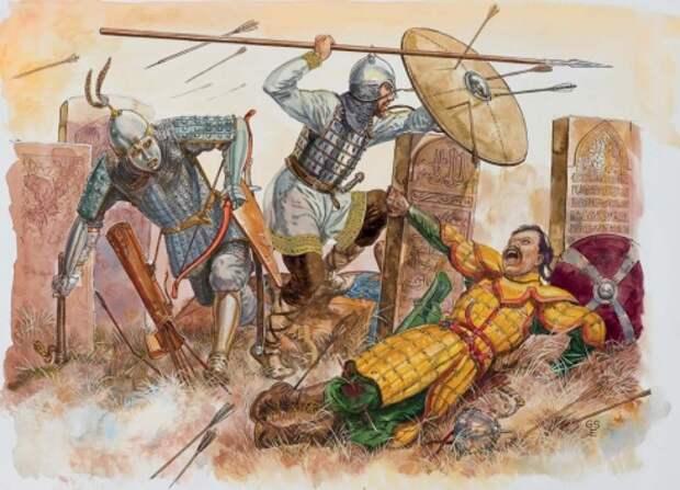 Монгольское нашествие на Волжскую Булгарию, середина 13 века