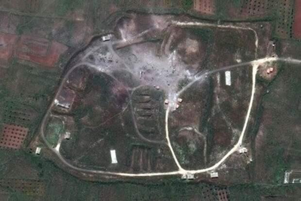 """""""И на это 103 ракеты?"""" - США показали спутниковые снимки после ракетного удара по Сирии"""