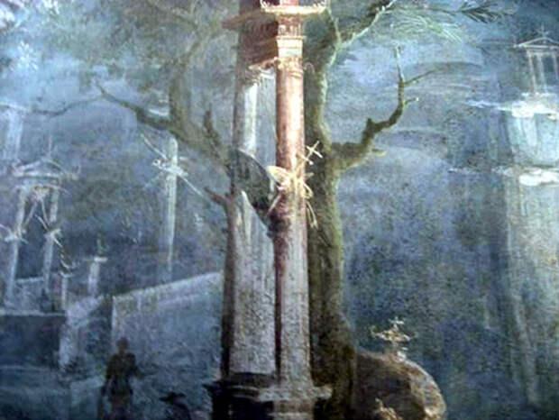 Фреска с оружием из Помпей. Национальный археологический музей Неаполя.