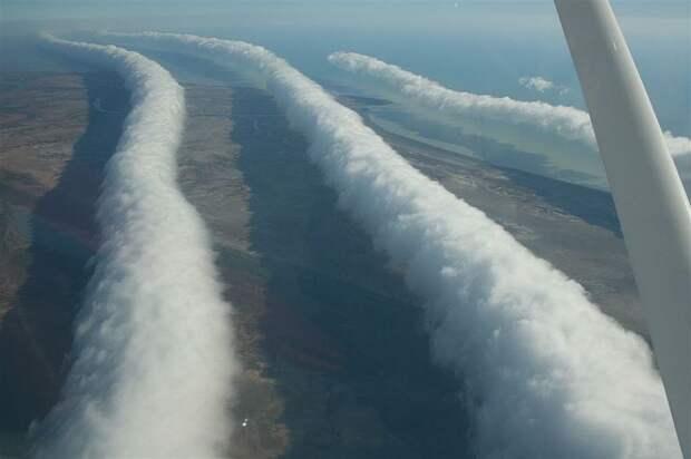 Облака, Австралия, Morning Glory, природа, неизученные явления