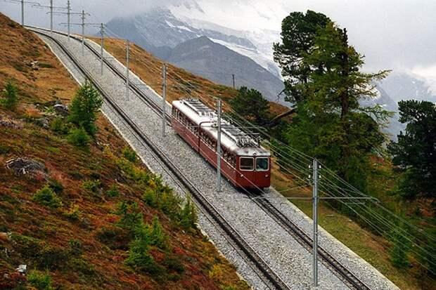 Chbahns32 Топ 5 самых необычных железных дорог Швейцарии