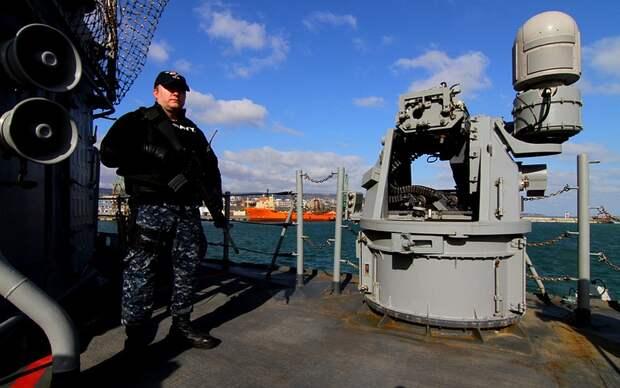 Попытки военных кораблей США зайти в Крым были постоянно еще с начала 2000-х Фото: GLOBAL LOOK PRESS