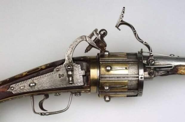 Револьвер, 1597 год.