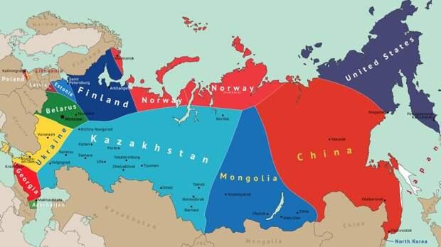 Латыши в мечтах уже разделили Россию