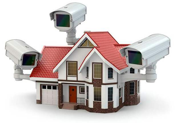Как организовать видеонаблюдение в частном доме?