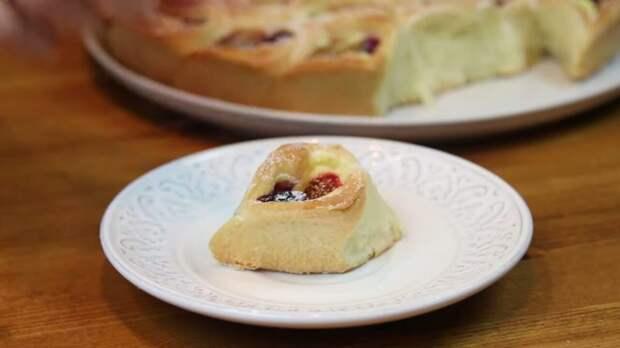 Необычный, разборный и очень аппетитный пирог «Ягодное лукошко»