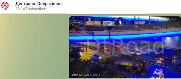 Прокуратура займется фактом падения грузовика на Ленинградский проспект