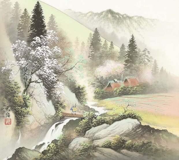 художник Коукеи Кодзима (Koukei Kojima) картины – 16