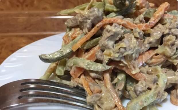 Забытый многими рецепт времен СССР: салат «Обжорка»