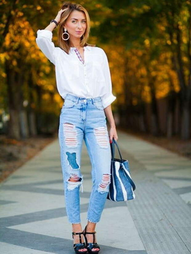 Женские джинсы-бойфренды: модели 2021 года и фото модных образов