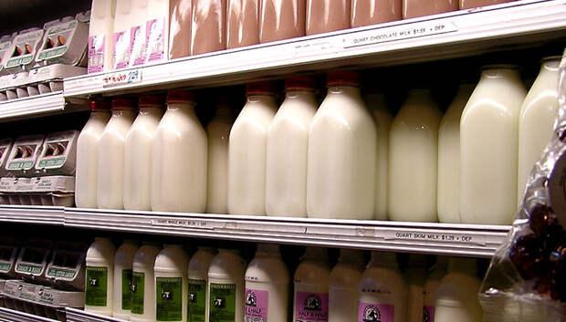 Объем производства молока в Подмосковье в 2018 году вырос на 2,5 тыс тонн