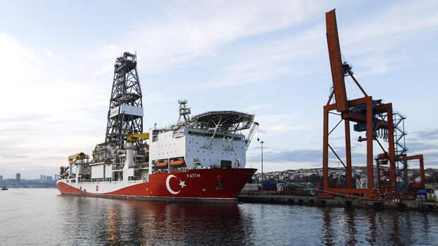 Турция планирует самостоятельно добывать газ в Черном море