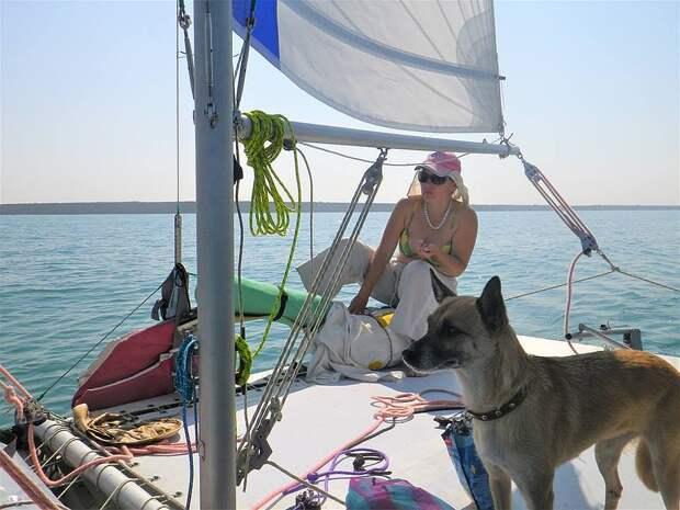 Как донецкая дворняжка стала настоящей морской волчицей