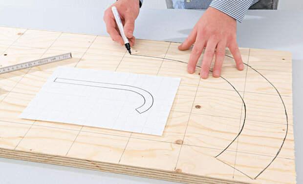Два пошаговых мастер-класса по изготовлению санок из обычной фанеры (фотоотчет и чертежи со всеми размерами)