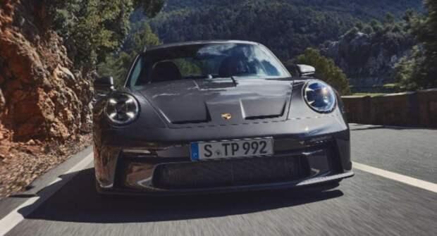 Представлен Porsche 911 GT3 Touring будущего модельного года со стильным дизайном