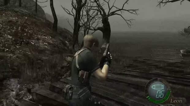 Resident Evil 4 – Незаметные круги на воде