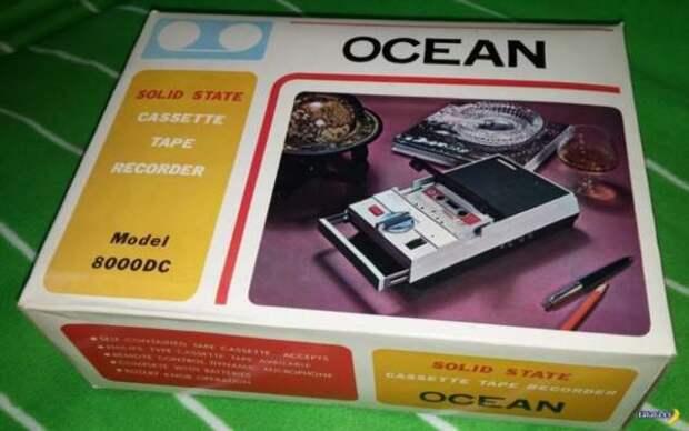 Капсула времени –японский кассетник