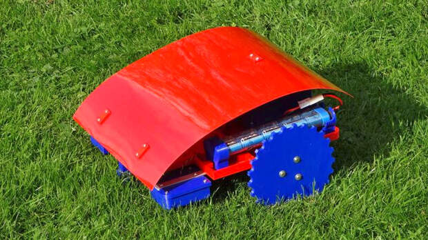 Роботизированная газонокосилка на 3D-принтере своими руками