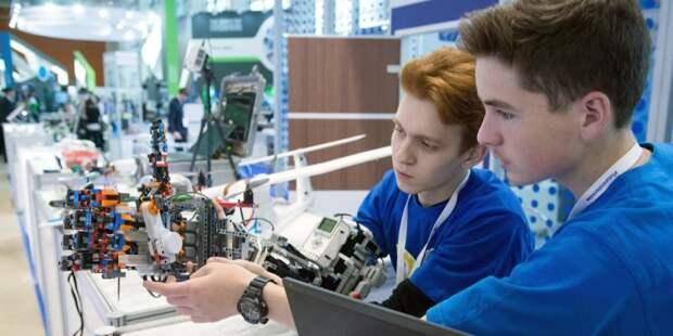 В Москве пройдет региональный чемпионат для юных конструкторов First Lego League — Сергунина. Фото: Е. Самарин mos.ru