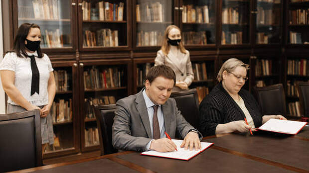 Мининский университет начал сотрудничество с Нижегородской кадетской школой