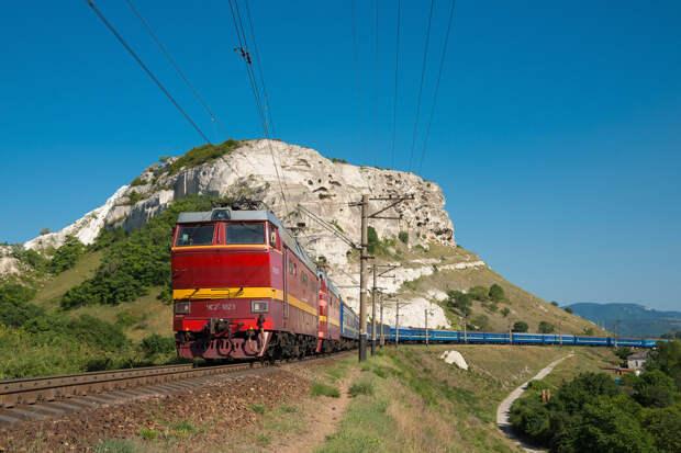 Названа стоимость билета на поезд в Крым