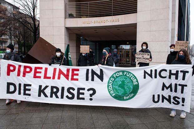 «Зелёным» Германии уже никто не позволит остановить «СП-2» – немецкий политолог