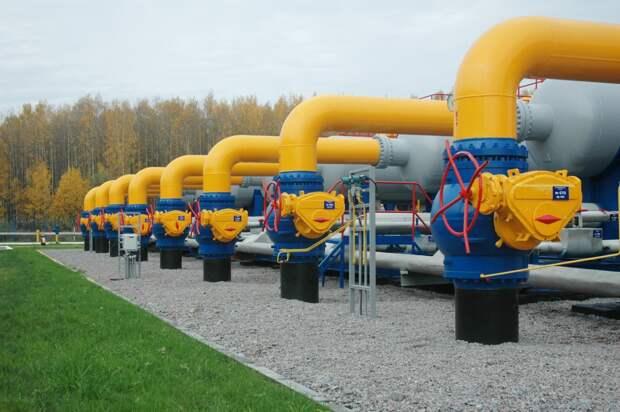 Транзит газа через Украину в Европу снизился в феврале на 25% к январю, до 2,9 млрд кубов