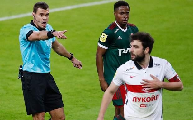 ЭСК: «Судья правильно не назначил пенальти в ворота «Локомотива» на 44-й, 52-й и 87-й минутах матча со «Спартаком»