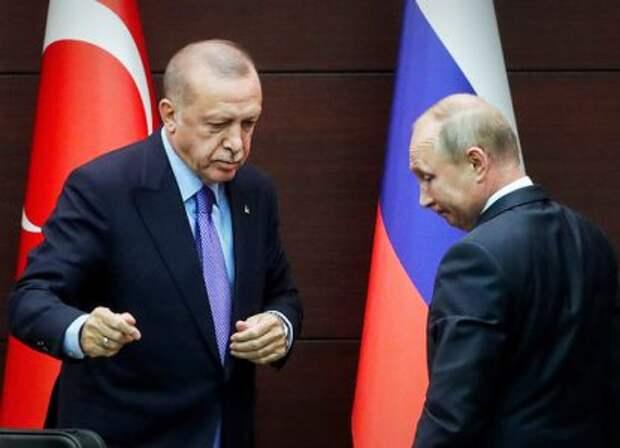 Эксперты прокомментировали последний разговор Путина с Эрдоганом: Не друзья...