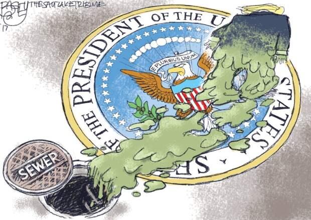 Провал импичмента Трампа в карикатурах
