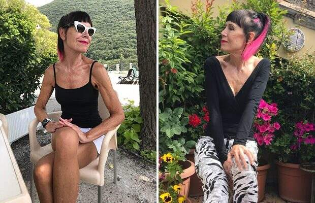 70-летняя британка поделилась секретом идеальной фигуры