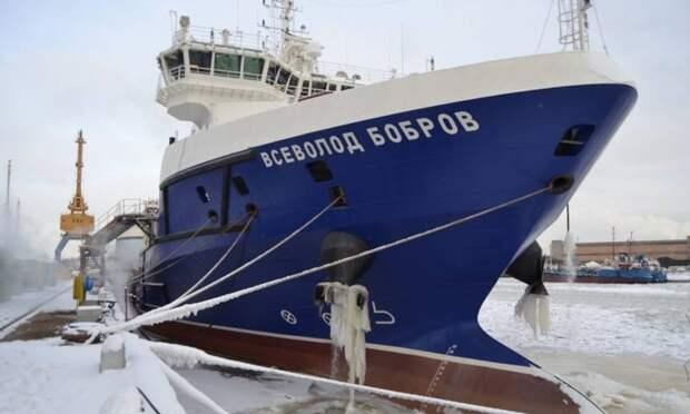Черноморский флот РФ получит ракетовоз- спасатель «Всеволод Бобров»