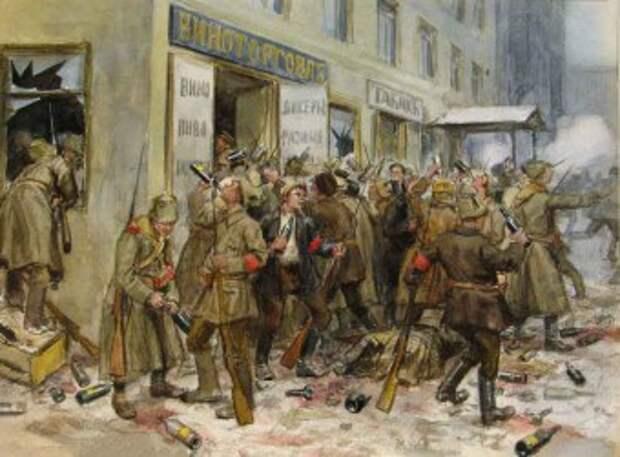 Фото: Октябрьский переворот 1917 года