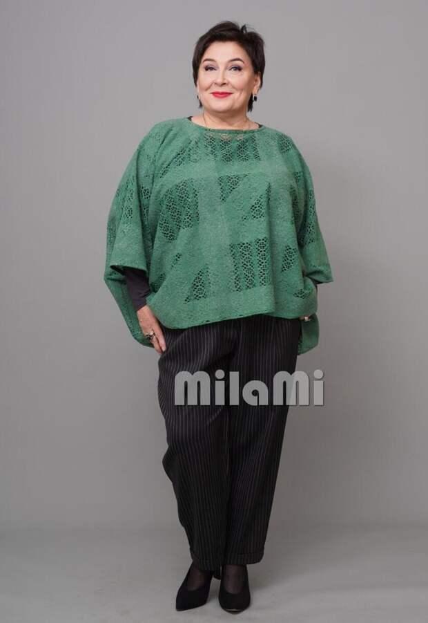 """Фото 7 -  брюки в полоску и жилет - туника """"MilaMi""""."""