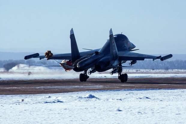 Двух пилотов потерпевших аварию Су-34 нашли