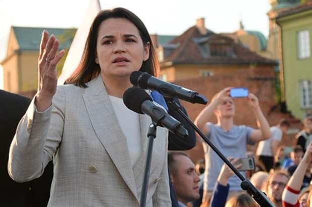 Тихановская призвала к новым санкциям против режима в Белоруссии