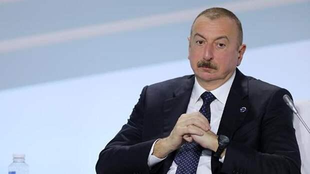 Алиев назвал «красную линию» Азербайджана поКарабаху