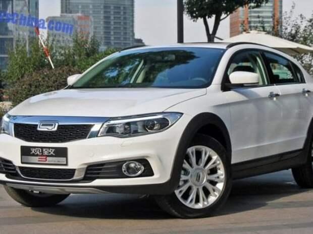Рассекречен новый китайско-израильский кроссовер Qoros 3 City SUV