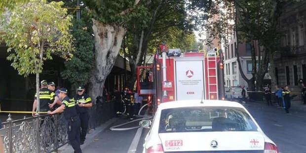В центре Тбилиси — взрыв