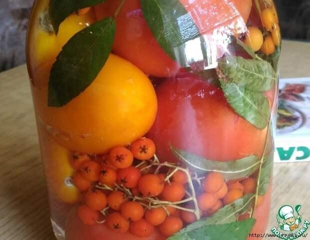 Вкусные помидоры на зиму с красной рябиной!