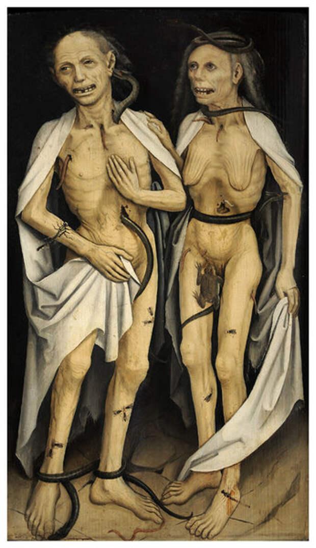 «Мёртвые любовники»: самая страшная картина Средневековья