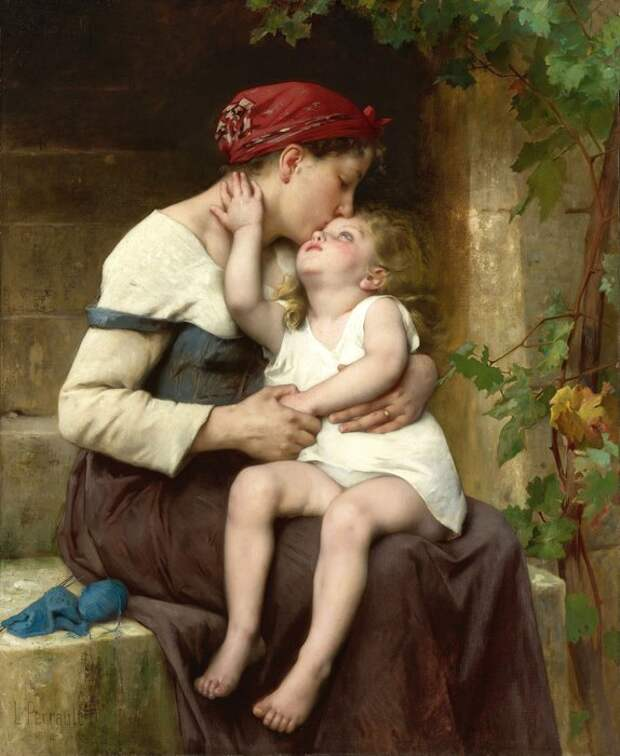 Леон-Жан-Базиль Перро, «Мать сребенком», 1894