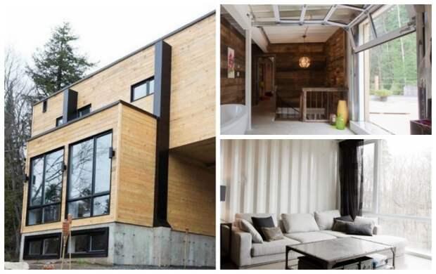 Панорамные окна стали главным украшением контейнерного дома. | Фото: viraldiario.com.
