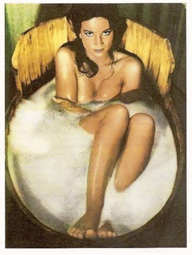 Николетта Макиавелли – темноволосая красавица из 70-х.
