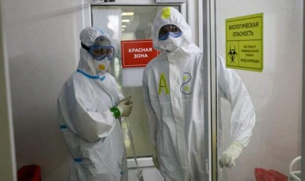 За минувшие 24 часа в России выявлено 5 905 новых случаев заболевания коронавирусом