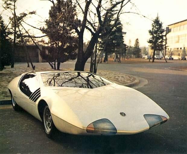 Toyota EX-III. 1969 автомир, аэродинамика, из прошлого, конструкция, обтекаемость. формы