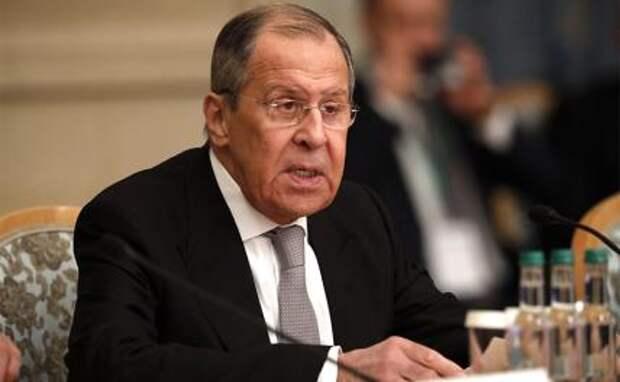 На фото: глава МИД России Сергей Лавров