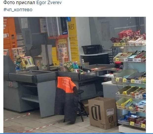 Пьяный мужчина устроил скандал в магазине на Михалковской